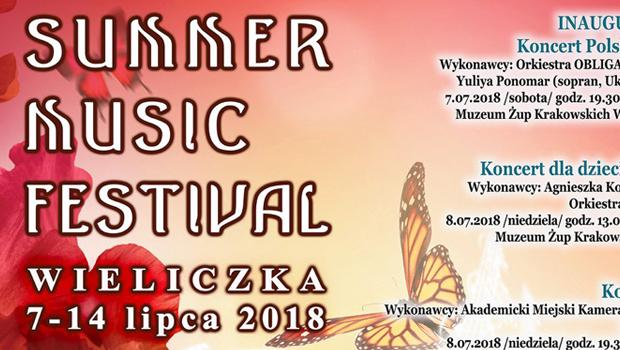 Summer Music Festival Wieliczka 2018 - program
