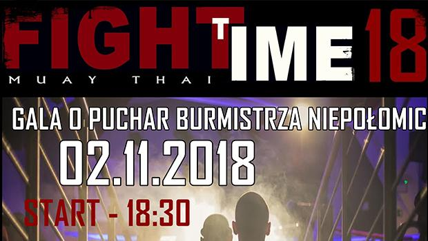 Gala walki Muaythai - Fight Time 18