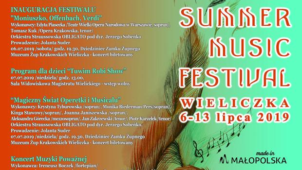 Summer Music Festival Wieliczka 2019 - program