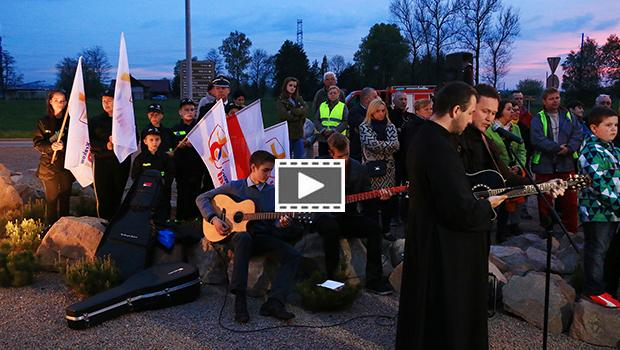 """Maj�wka\"" na Campus Misericordiae - film"